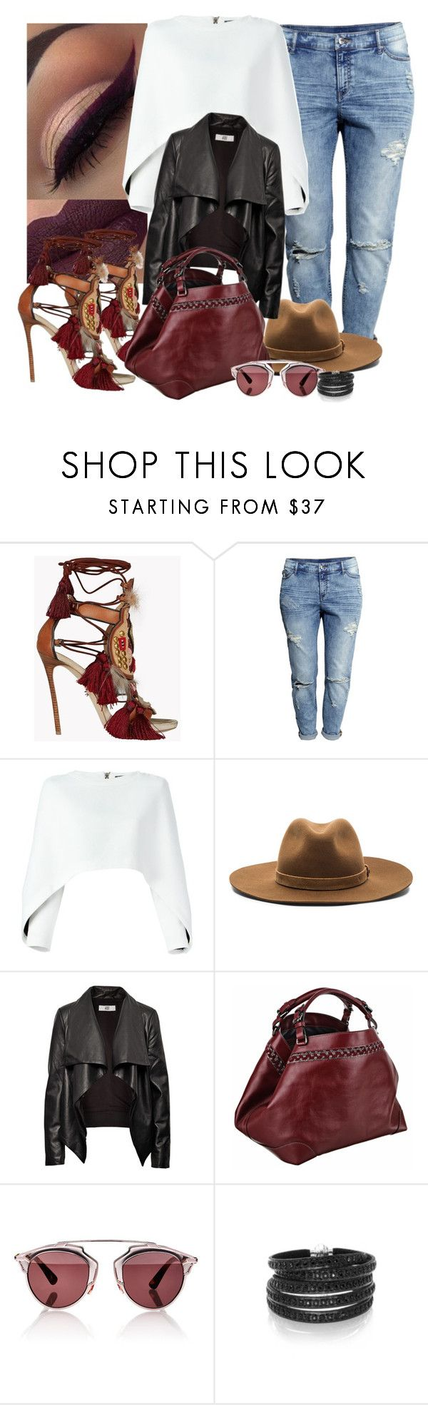 """""""Me toca 🎶"""" by mrs-brown-carter ❤ liked on Polyvore featuring Dsquared2, H&M, Balmain, rag & bone, HIDE, Caroline De Marchi, Christian Dior and Sif Jakobs Jewellery"""