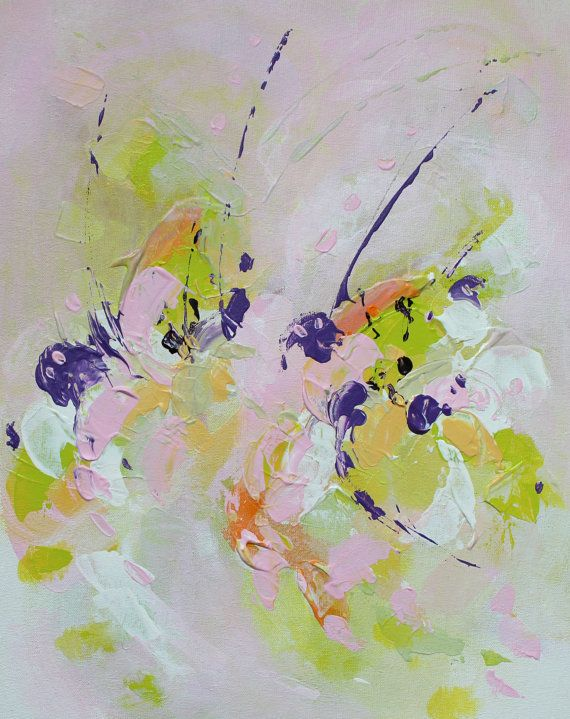 Abstract painting by Svetlansa #painting #abstract #svetlansa #homedecor #violet #artwork #wallart #abstractart