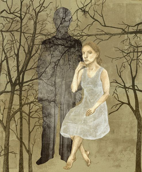 Piia Lehti, Muisto / Memory, 2015, silkscreen on plywood, 69 x 57 cm