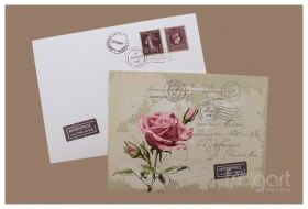 ΠΡΟΣΚΛΗΤΗΡΙΟ ΓΑΜΟΥ CARD POSTAL  (FR W254)