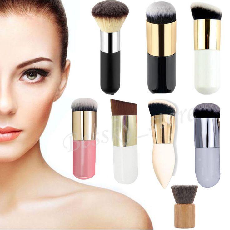 pressed powder foundation brush. mini makeup cosmetic brush concealer face powder blush foundation pressed