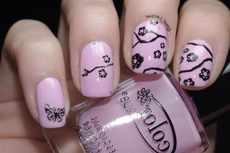 8 best Airbrush Nail Designs images on Pinterest ...