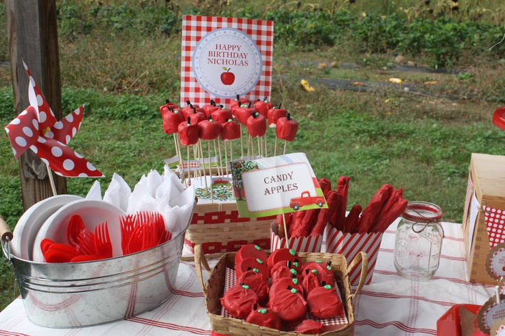 Apple Orchard Party | Party ideas | Pinterest | Apple ...