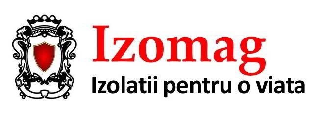 Izomag Construct Bucuresti. Logo-ul si motto.