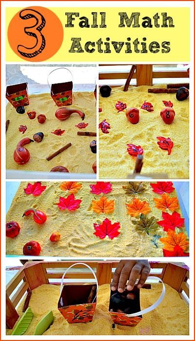 3 simple fall themed math activities for number ...