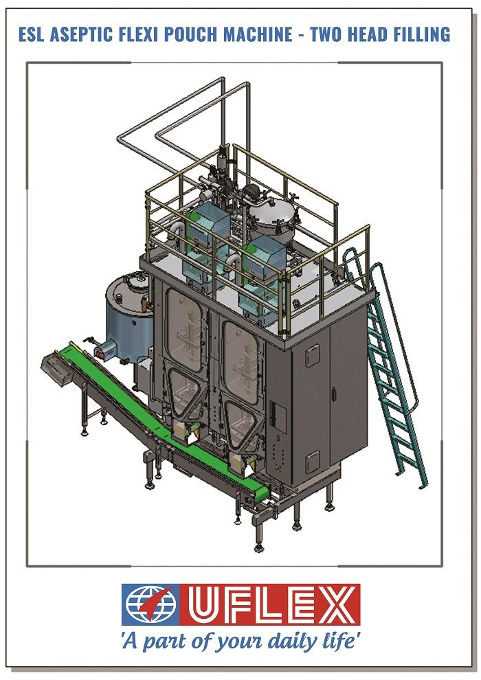 #Uflex Launches ESL Aseptic Flexi-Pouch Machine for #Packaging #Milk