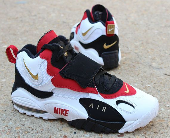 Nike Air Max Speed Turf - San Francisco 49ers getting these for my birthday <3