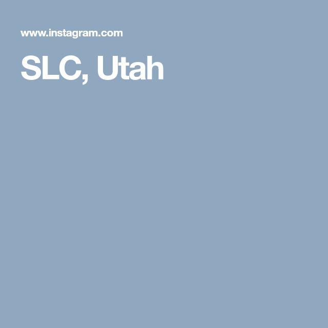 SLC, Utah