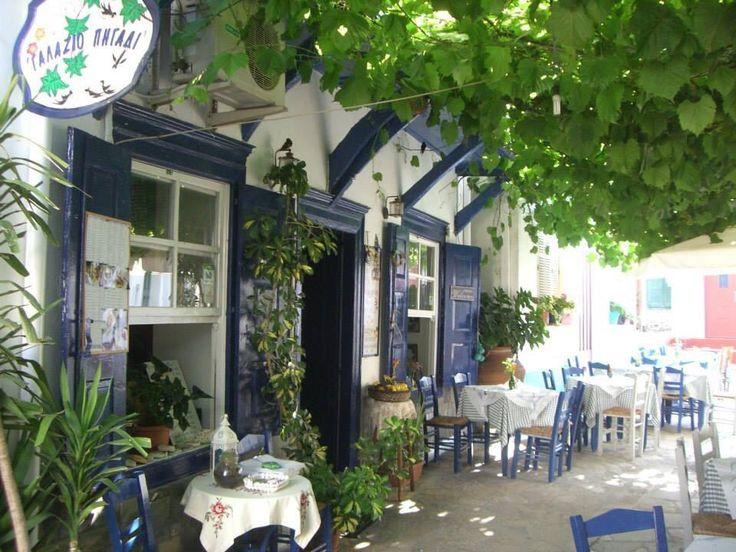 Galazio Pigadi, Vourliotes - Restaurant Reviews, Phone Number & Photos - TripAdvisor