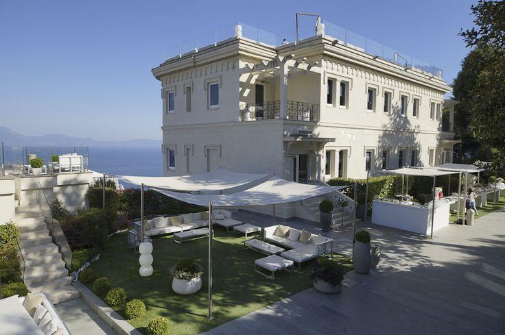 The conference center of Villa Diamante, Naples (Italy).