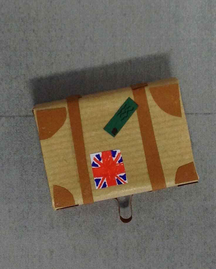 'WW2 child evacuee's suitcase' by Joanne