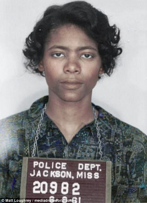 The rides continued for the following months and under pressure from the Kennedy administration, the Interstate Commerce Commission issued new regulations prohibiting segregated transport facilities. Patricia Elaine Bryant, then 20, was member of the 12th group of Freedom Riders that were arrested in Jackson, coming from Nashville at 5.30am on June 8, 1961.