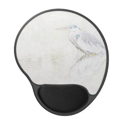#Great Blue Heron Mousepad Photo Art - #office #gifts #giftideas #business