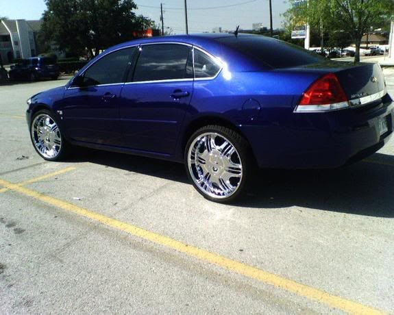 2006 Chevy Impala For Sale >> Impala On 22s | Pics of 2006 Impalas on 22's or higer Please | My cars | Pinterest | Impalas and ...