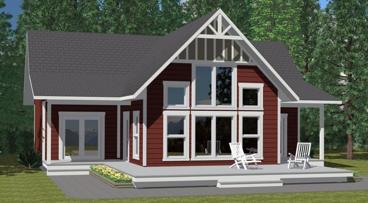 The Summit - Prefab Cabin and Cottage Plans   Winton Homes