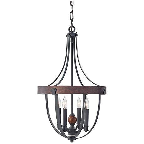 245 best lodge style lighting images on pinterest chandelier feiss alston 16 wide rustic industrial chandelier aloadofball Images