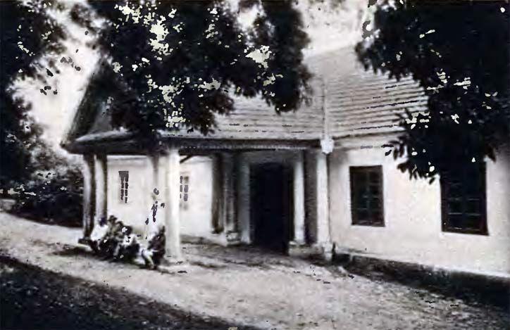 Dwór Koziełł-Poklewskich w Starym Miadziole. ca1930, Bialorus