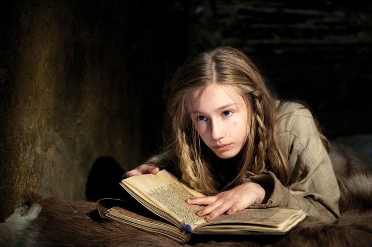 Lotte Flack as young Joan in the film 'Pope Joan'