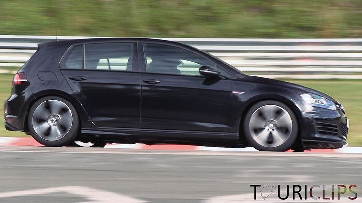 2014 Volkswagen Golf R mule testing on the Nürburgring Nordschleife!