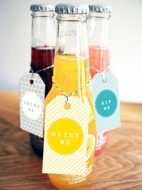 Free drink label download