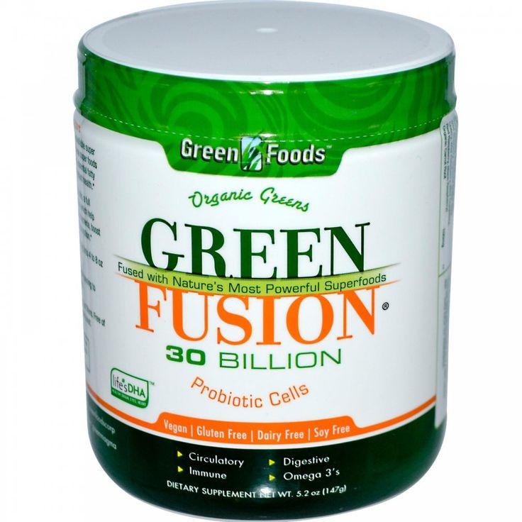 Green Foods Green Fusion Organic Powdered Greens Supplement Tub