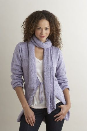 Sophisticated Options Cardigan And Scarf