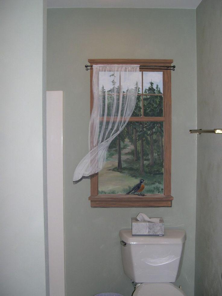 25 Best Ideas About Bathroom Mural On Pinterest Murals