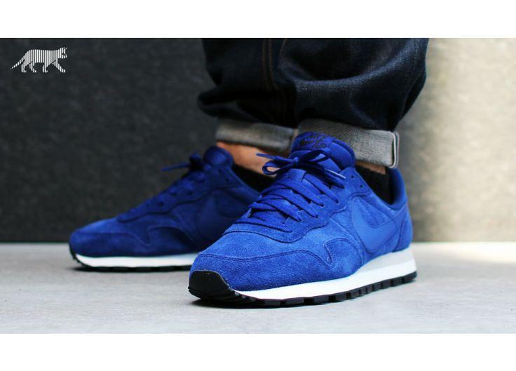 CHEAP Nike Air Pegasus 83 Suede Blue