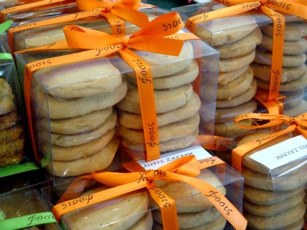 Μπισκότα κανέλλας: χωρίς ζάχαρη, με χυμό αγαύης.