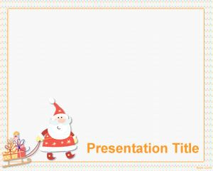 best christmas powerpoint template images on, Powerpoint