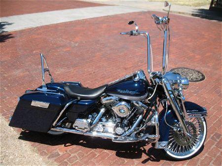 Harley Davidson Road King Baggers | 1995 FLHR Road King ...