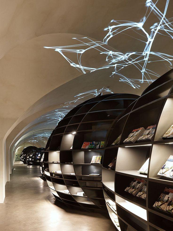 7 Breathtaking Retail Spaces | Projects | Interior DesignDesigner: INNOCAD Architektur. Project: Graz Tourismus information center. Location: Graz, Austria. Photography by Paul Ott.
