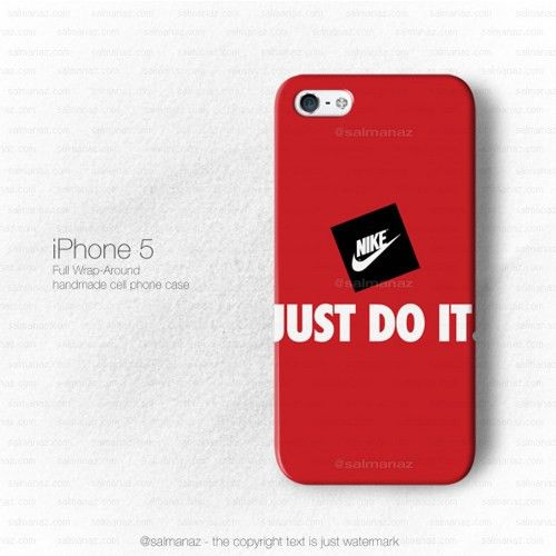 Just Do It Nike Air Sport Gear iPhone 4, 5, 6 Case Cover Series