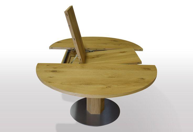 For Her, Hand Crafts. Find This Pin And More On Runder Tisch Wildeiche  Ausziehbar ...