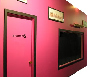 I would sooo do this but instead of studio hav them as dressing rooms for my students