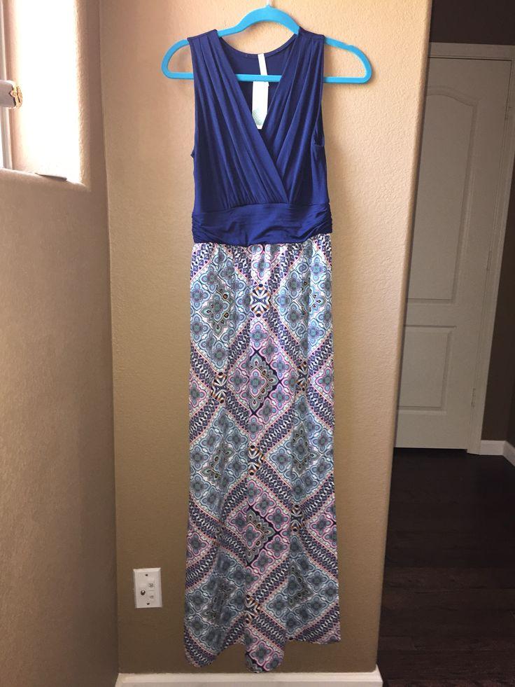 Neela maxi dress stitch fix