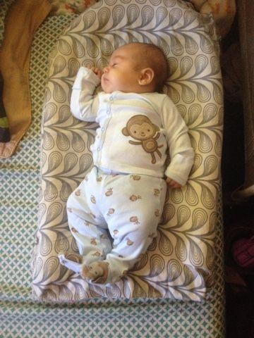 My Life As I Know It: DIY Newborn Cosleeper