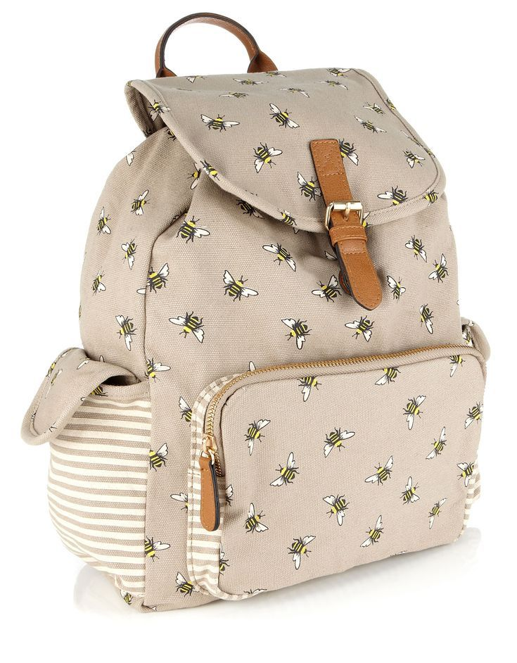 Busy Bee Rucksack Lining Textile Composition Outer:100% Cotton Lining:100% Polyester Trim:100% Polyurethane (PU) Material Outer 100% Cotton Lining 100% Polyester Trim 100% Polyurethane (PU)
