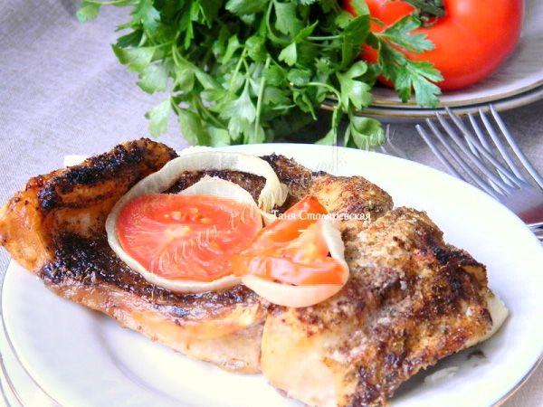 Толстолобик, запеченный в духовке, рецепт