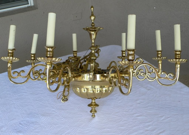 Virginia Metalcrafters Governors Office Chandelier