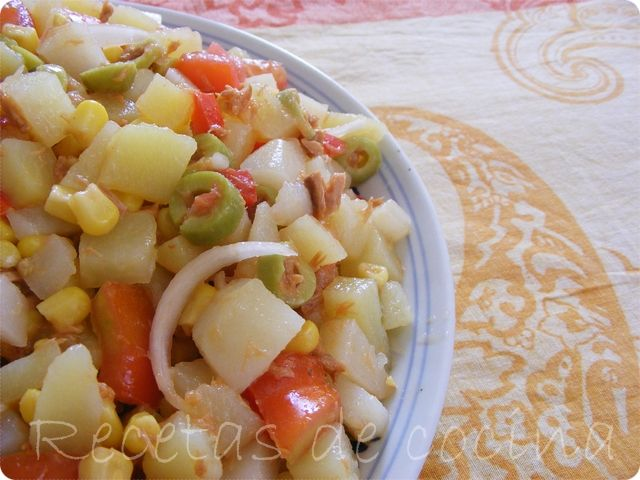 Ensalada veraniega de patatas