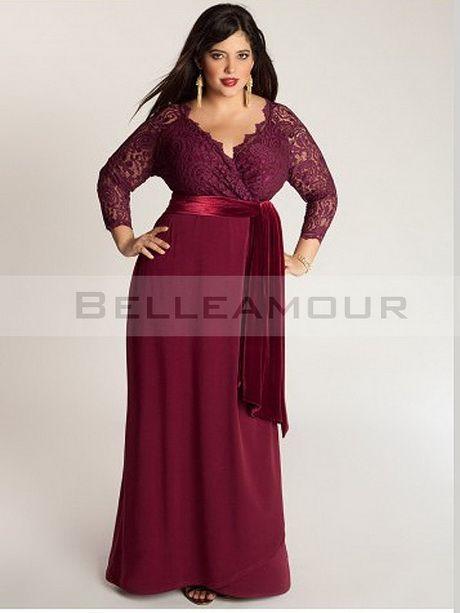 Robe habillee femme ronde