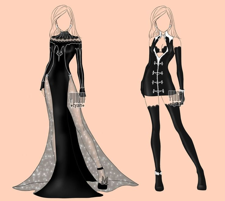 [closed] Auction BW Outfit women 2-3 by YuiChi-tyan