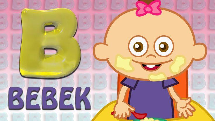 B Harfi - ABC Alfabe SEVİMLİ DOSTLAR Eğitici Çizgi Film Çocuk Şarkıları ...