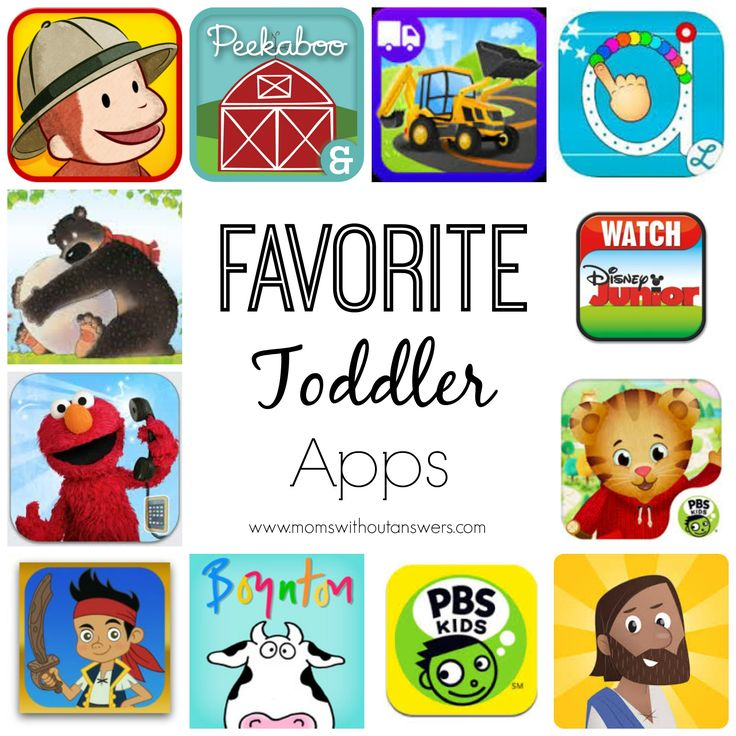 Favorite Toddler Apps