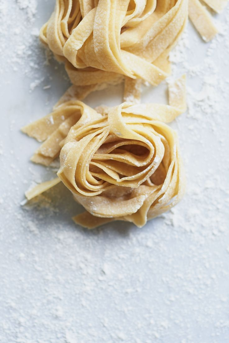Transform flour and eggs into something magical! The semolina flour version of this homemade noodle recipe is a classic. Master the Italian dinner recipe, then host a pasta party with our flavor variations, including herbs, beets, saffron, roasted red pepper, and spinach.