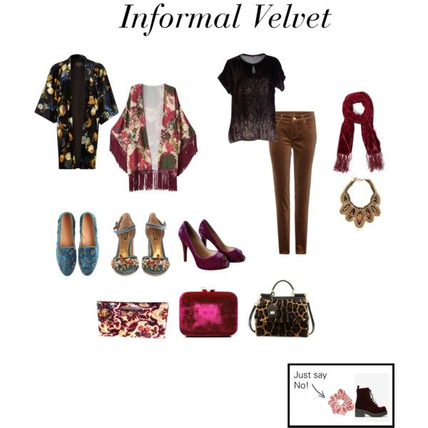 """Informal Velvet"" 2014 by jennylutes on Polyvore"