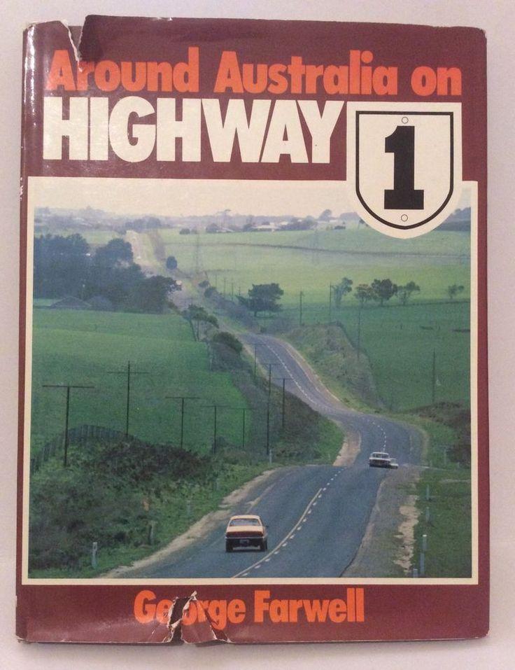 Around Australia On Highway 1 George Farewell Vintage Book 1978