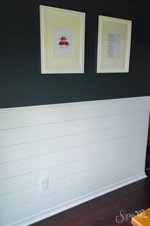 187 Best Images About Shiplap Molding And Wainscotting On Pinterest