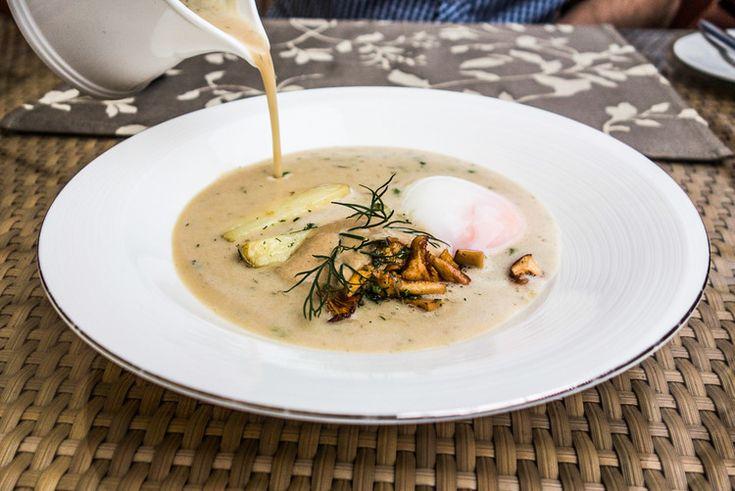 Kulajda-Suppe in Prag - traditionelles tschechisches Essen